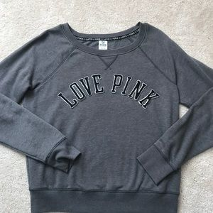 Victoria Secret PINK Gray Sweatshirt